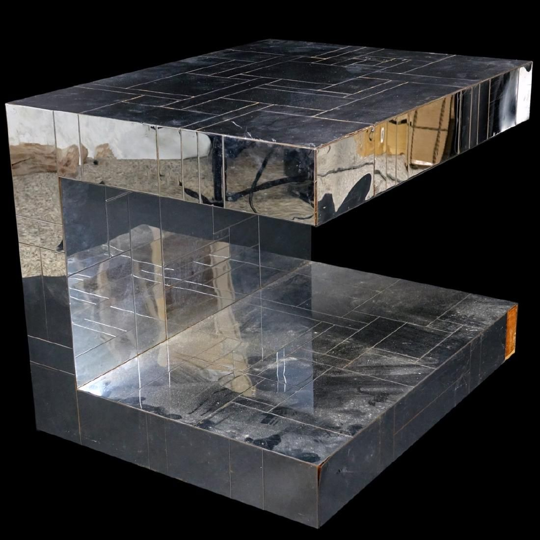 "Paul Evans ""Cityscape"" Patchwork Side/End Table"
