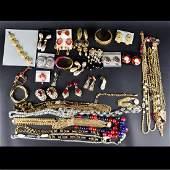 Lot of Necklaces, Bracelets, Pins, & Earrings
