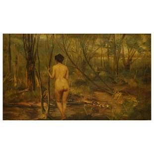 Thomas Alexander Harrison (1853 - 1930) Oil/Canvas