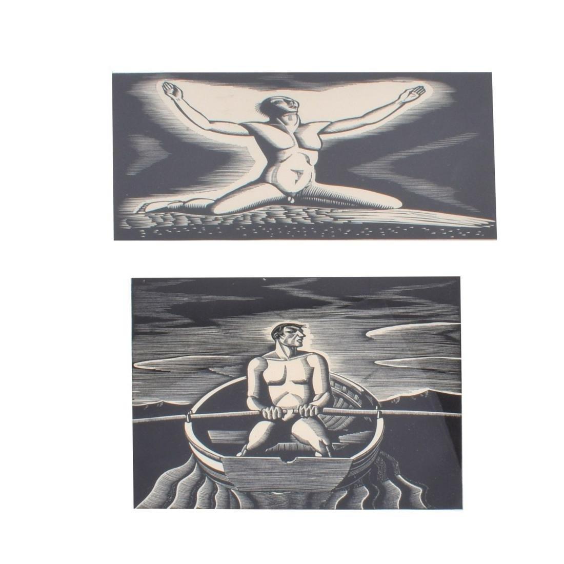 Two (2) Earl Marshawn Washington (b.1962) Prints