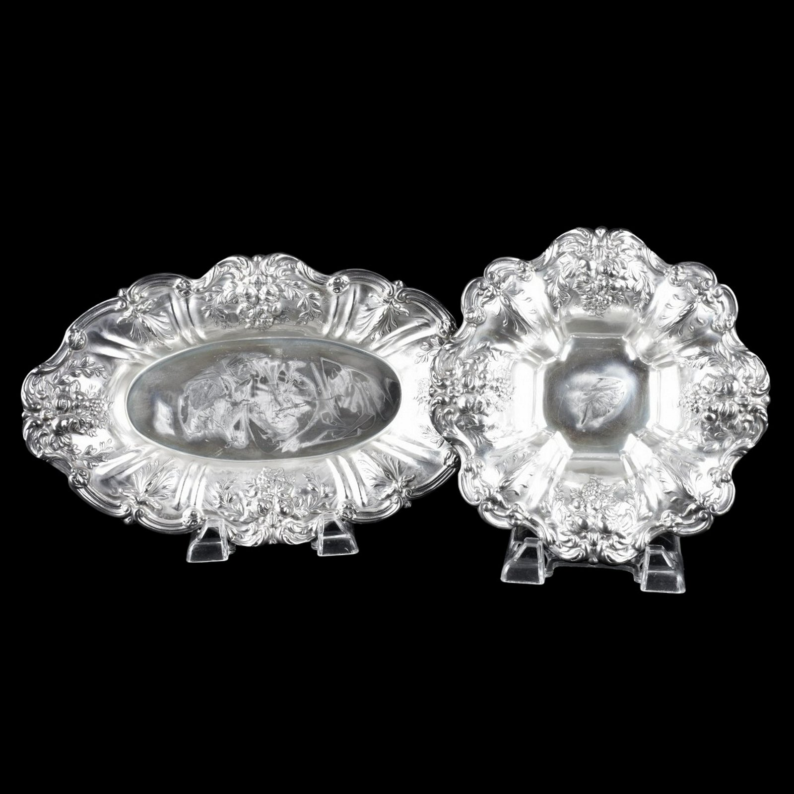Two (2) Reed and Barton Sterling Silver Dishes