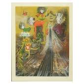 Roberto Matta (1911-2002) Etching and Aquatint