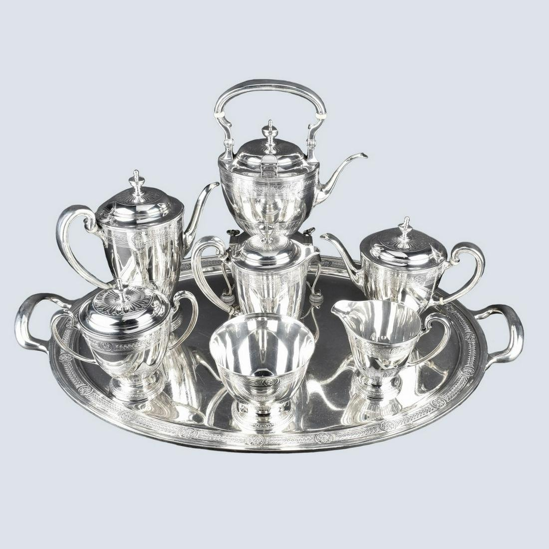 Tiffany Tea and Coffee Set