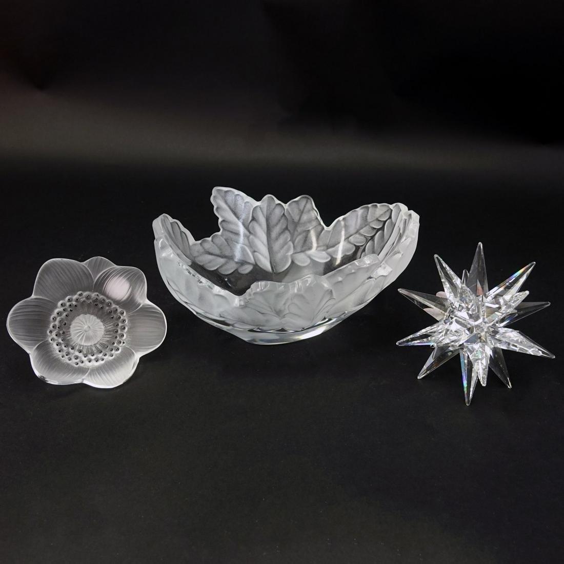 Lalique & Swarovski Lot
