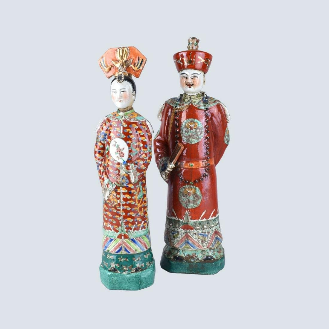 Two Chinese Export Figurines