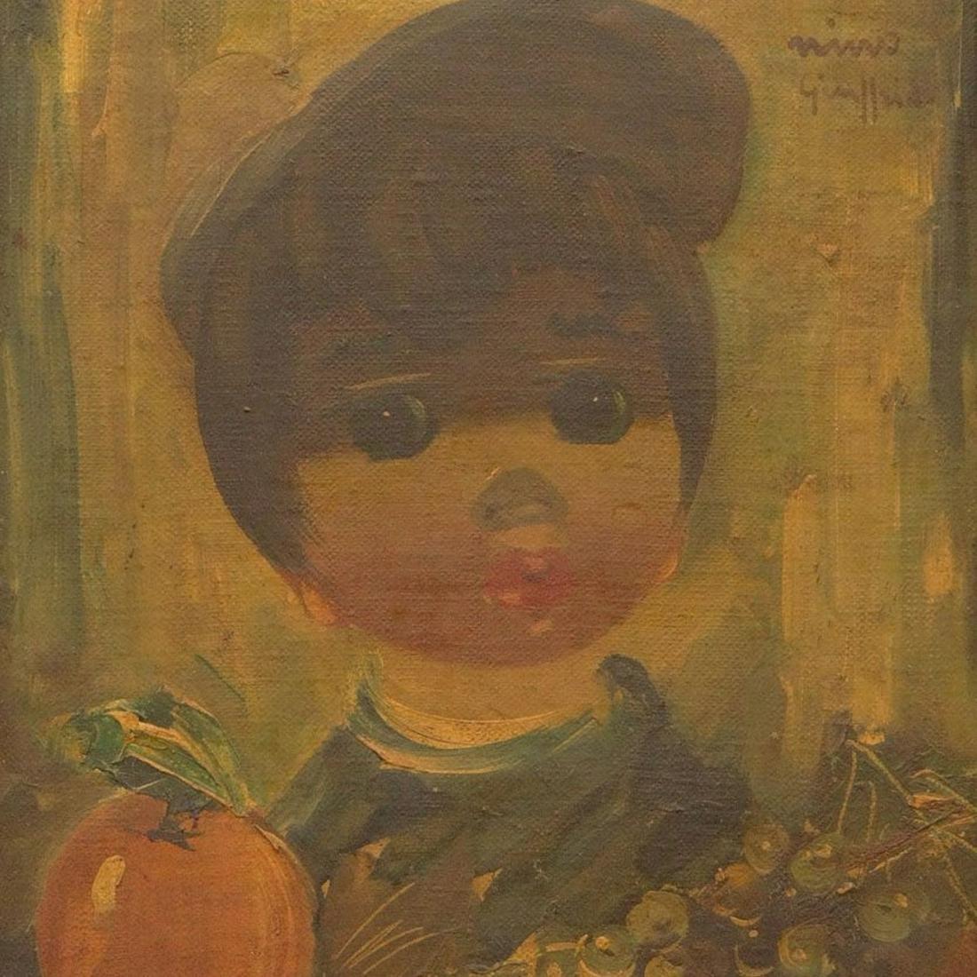 Nino Giuffrida, Italian (1924- ) Oil on Canvas