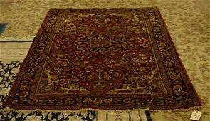 317 Antique Persian Hand Woven Oriental Rug Unsigned