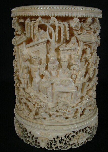 781: Fine Late 19th or Early 20th Century Chinese Carve