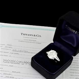 Tiffany & Co 5.50ct Diamond Ring