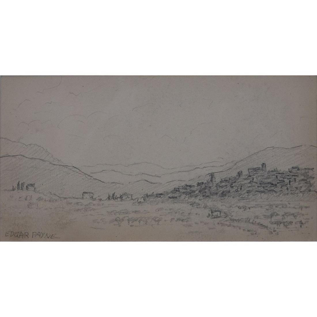 Edgar Alwin Payne (1883–1947) Landscape