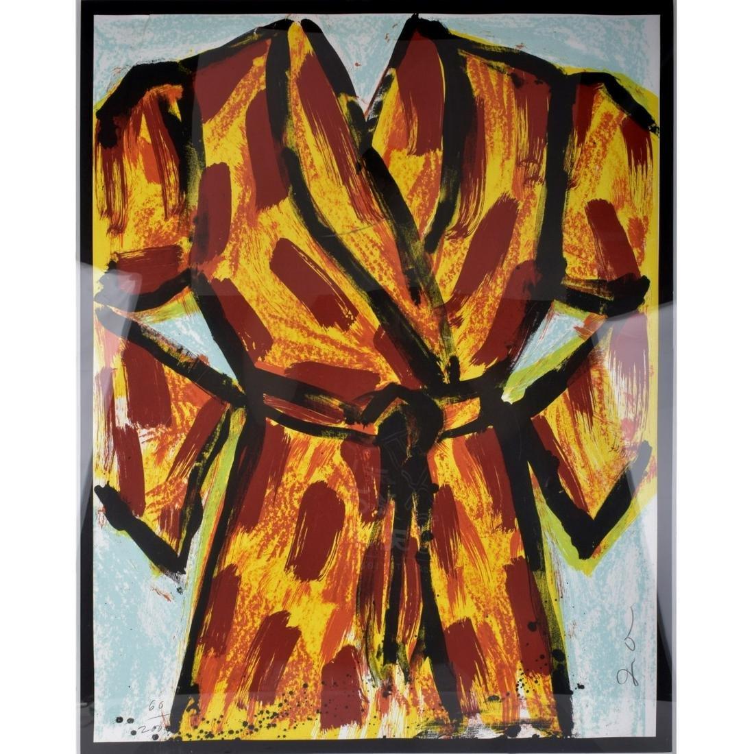 Jim Dine American (1935- ) Lithograph