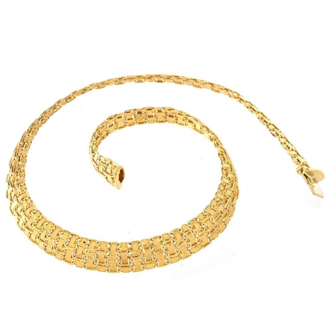 Italian 14K Link Necklace