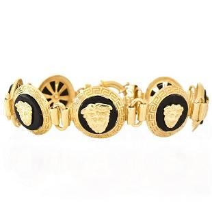 Versace style 14K Bracelet