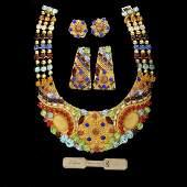 Italian Costume Jewelry Suite