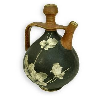 Amphora Glazed Ceramic Ewer