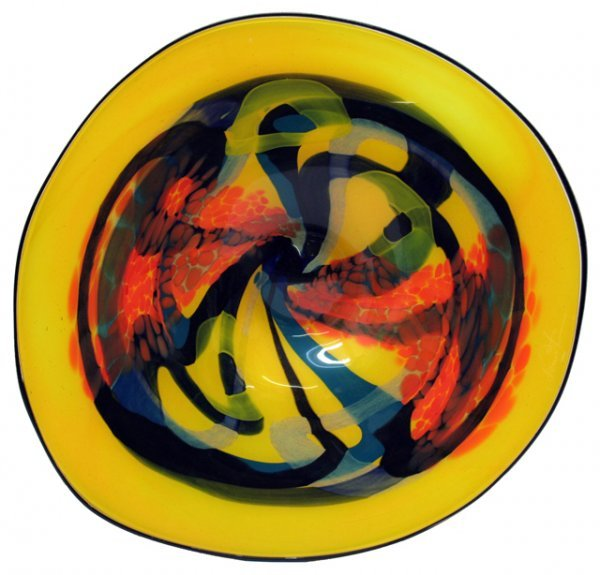 "19: Ioan Nemtoi Romanian (born1964- ) Glass Sculpture """