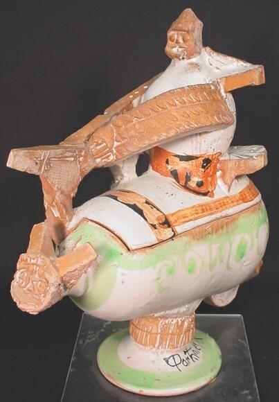 43: Gilbert Portanier French (born1926 ) Ceramic Vessel