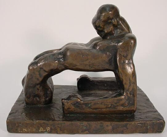 Ernst Neizvestny Russian (born1926- ) Bronze Sculpt