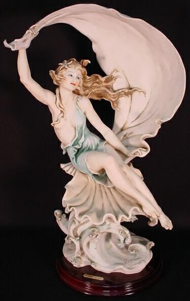 "653A: Limited Edition Giuseppe Armani Figurine ""Partial"