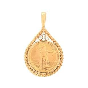 1/10 Oz Fine Gold $5 American Eagle