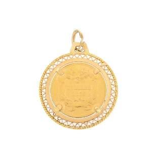 1855 US Gold Three Dollar Coin