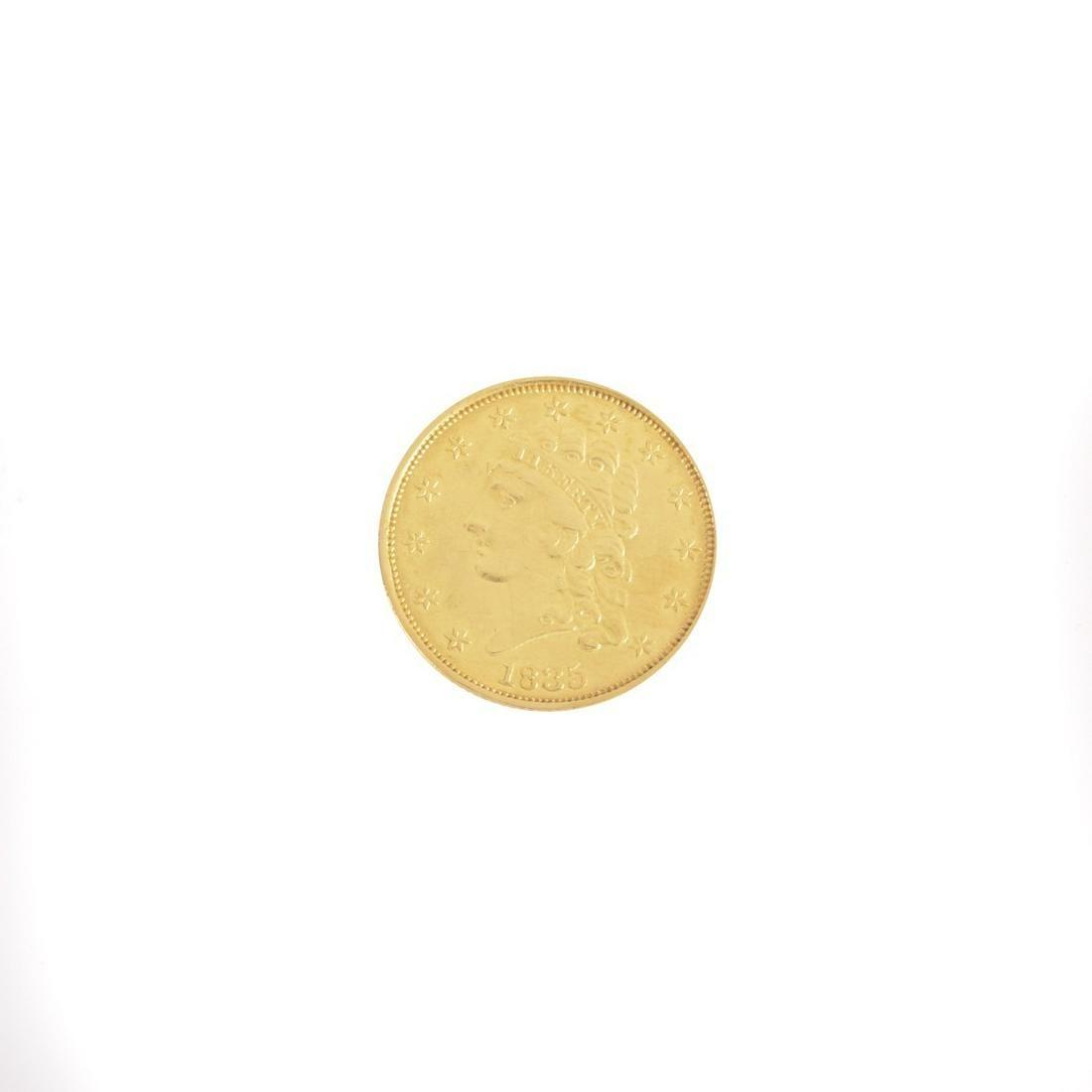 1835 US Gold Classic Head $2.50