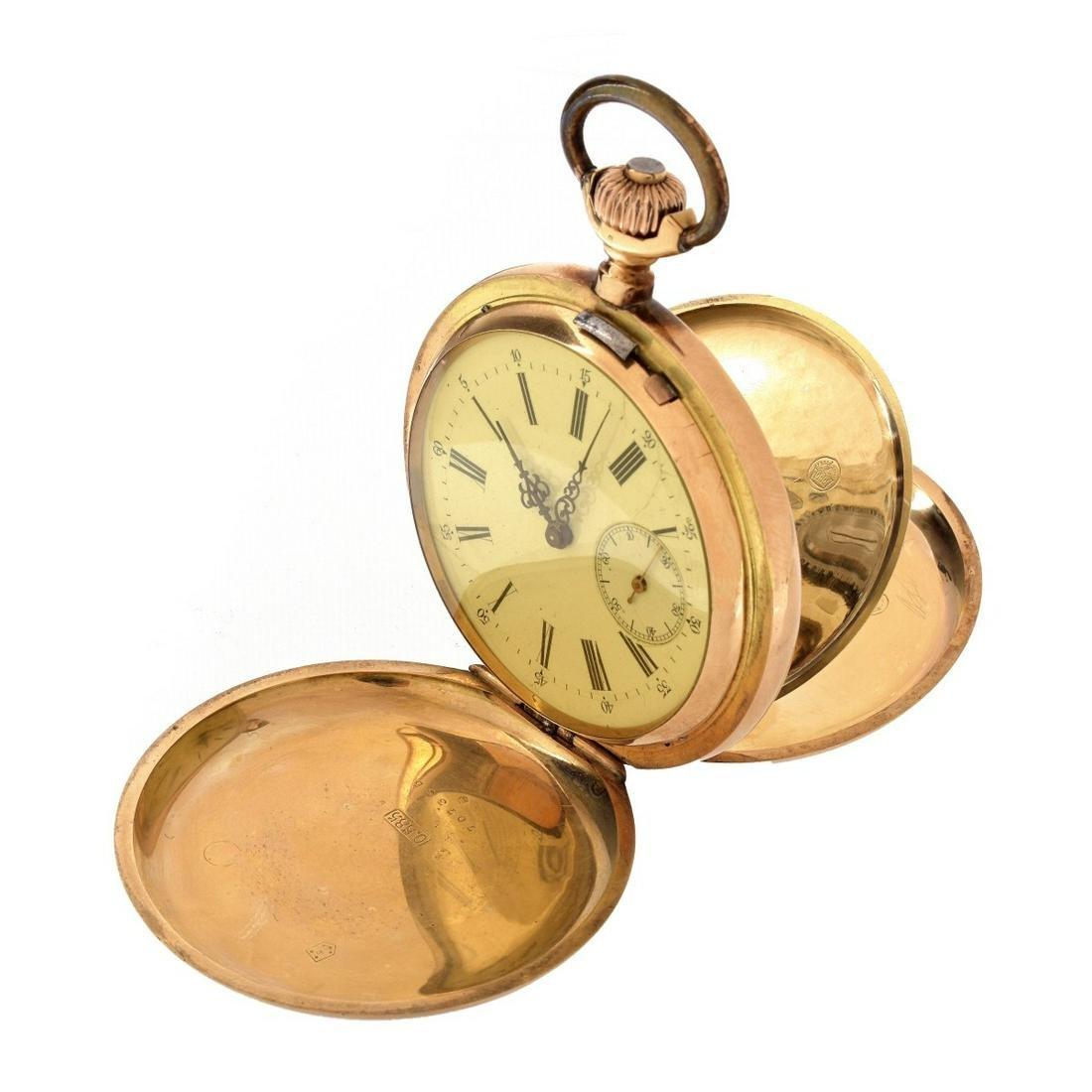 Antique German 14K Pocket Watch