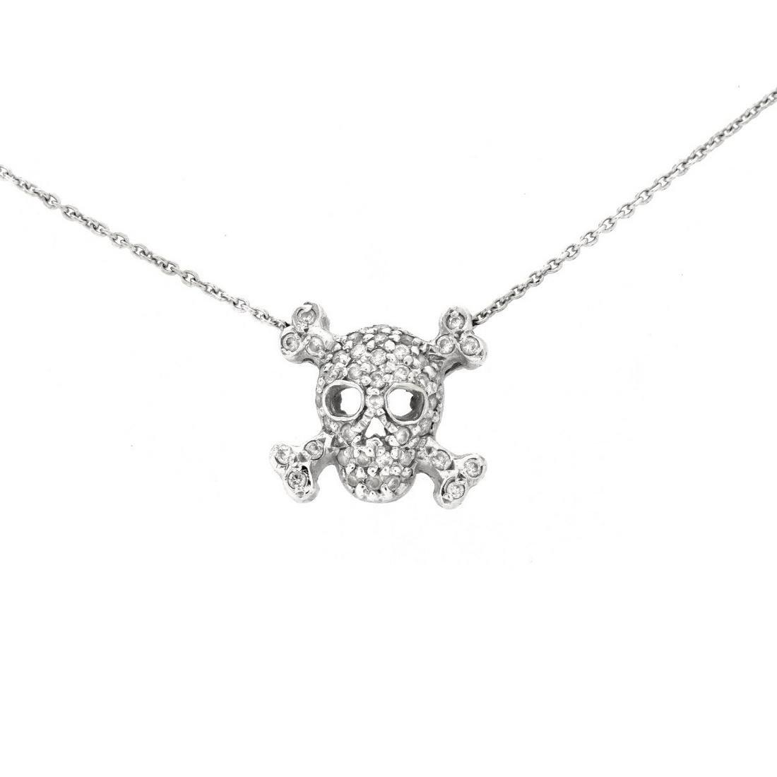 Roberto Coin Diamond and 18K Necklace