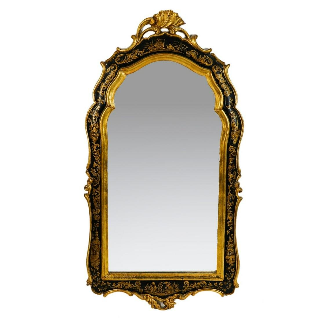 20th C. Chinoiserie Mirror