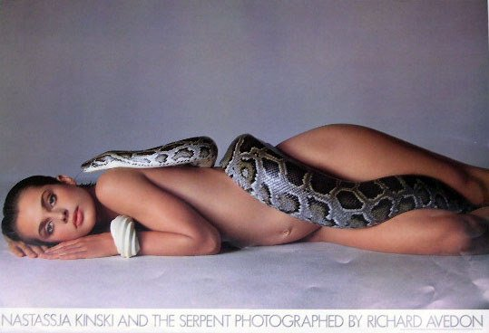 313: Nastassja Kinski and the Snake Poster Original Pho