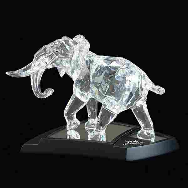 Swarovski Crystal Elephant