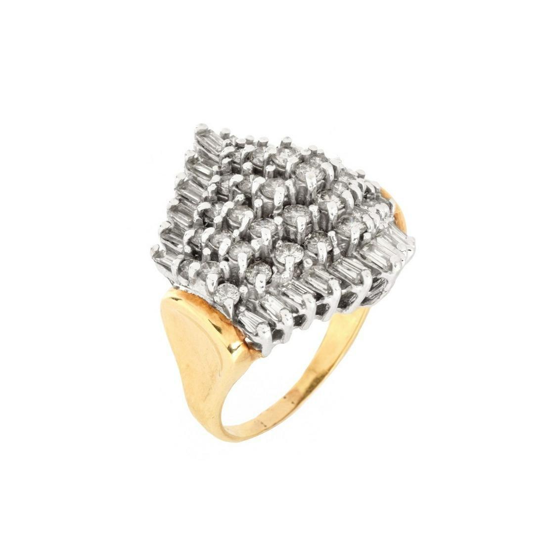 Diamond and 14K Ring
