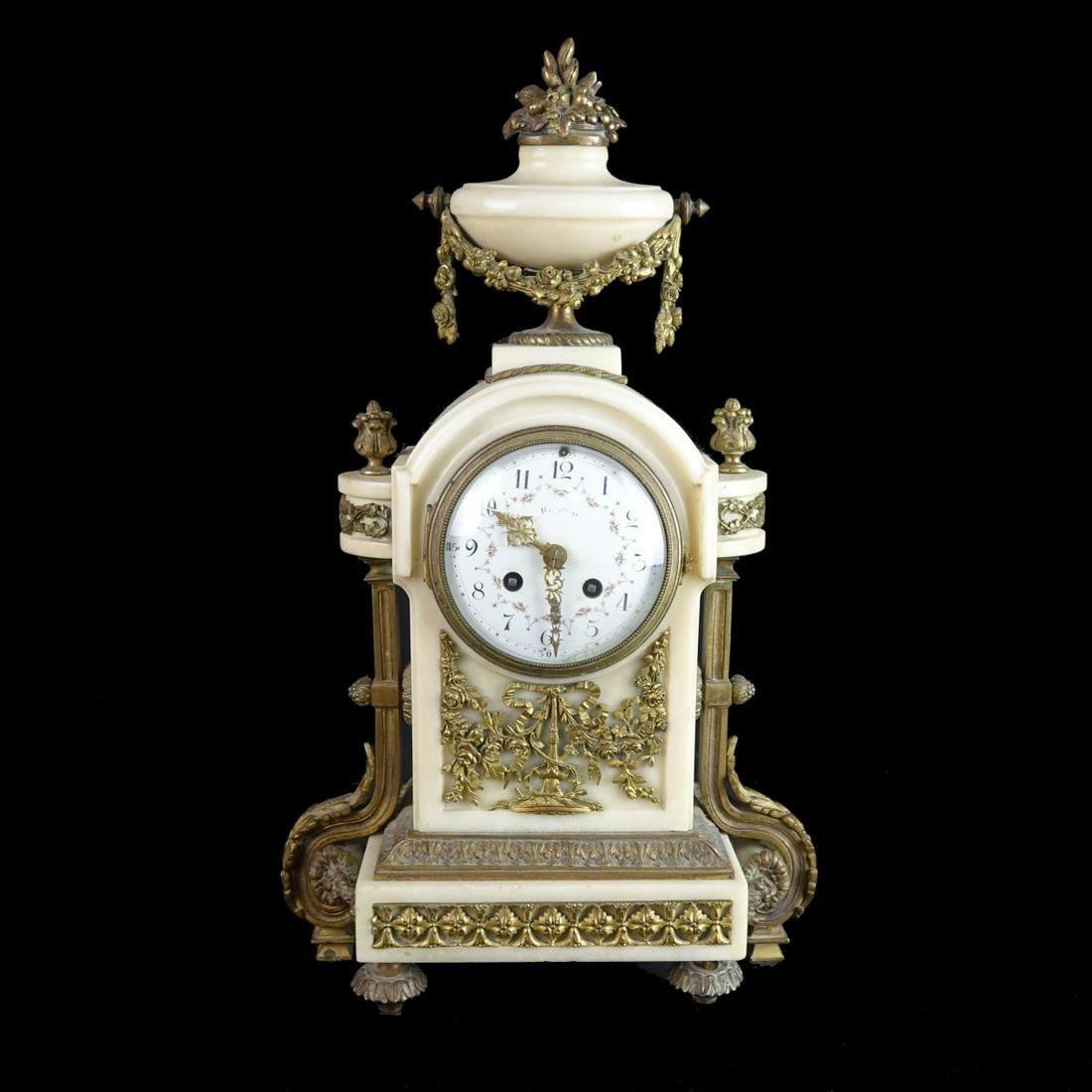 Louis XVI Style Mantle Clock