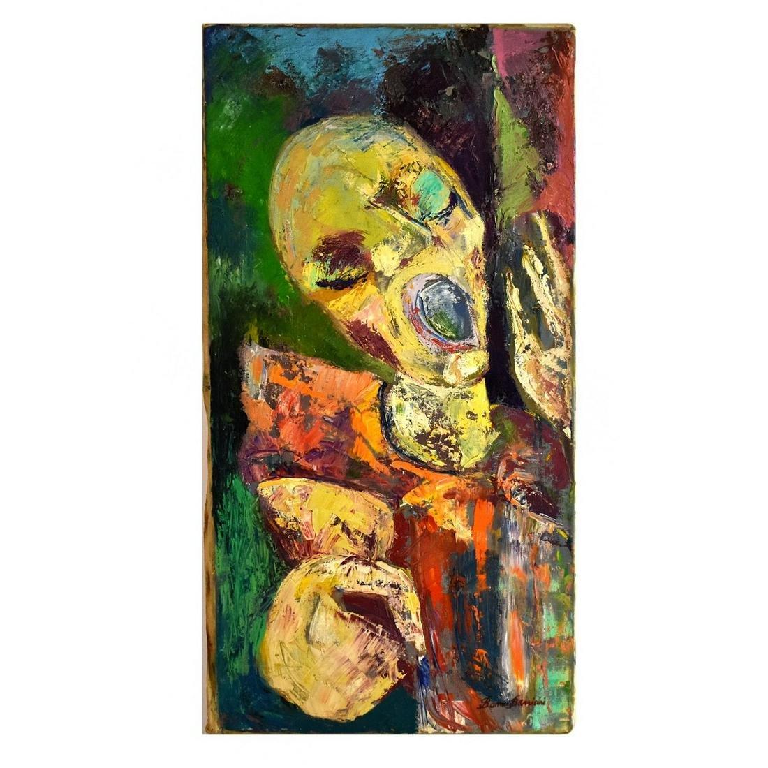 B. Barriani (20th C.) Oil on Canvas