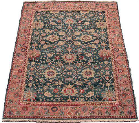 Hand Woven Persian Caucasian Oriental Rug. Good to