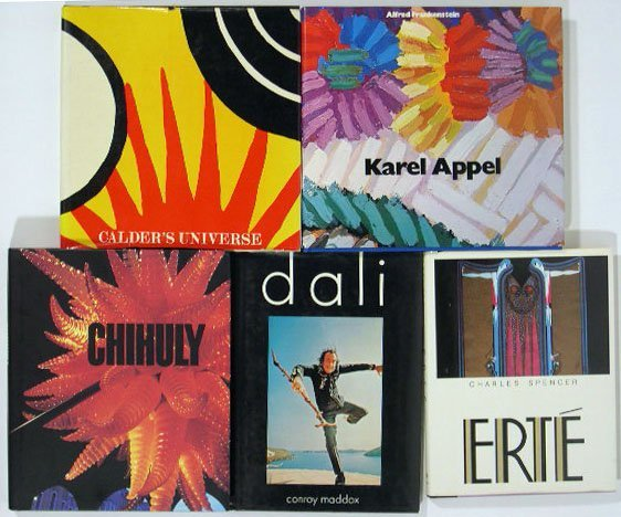 512: Collection of 4 Books: Chihuly by Donald B. Kuspit