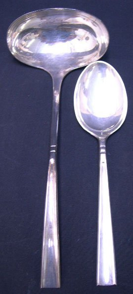 521: Two (2) Codan Mexican Sterling Silver Serving Piec