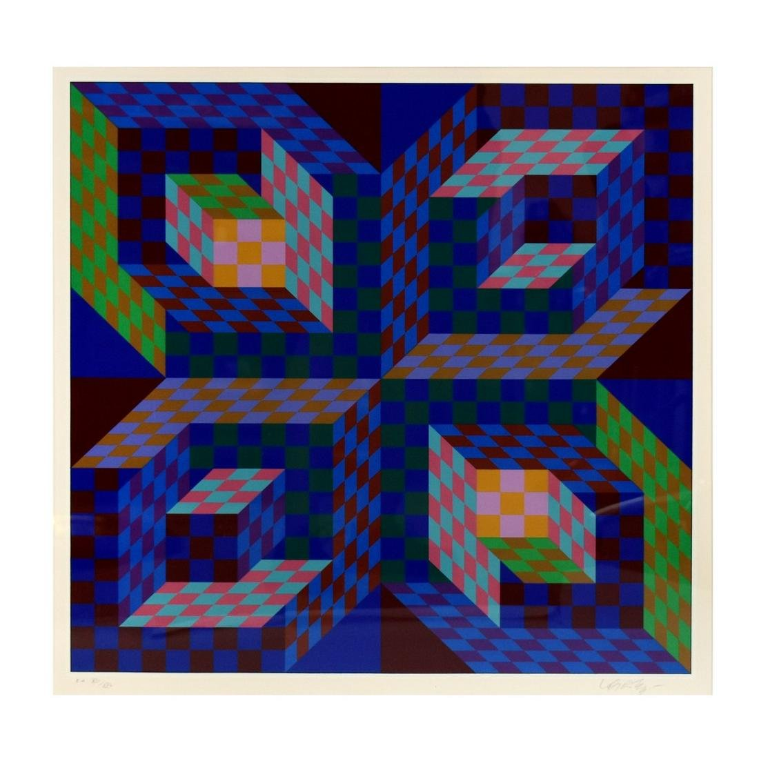 Victor Vasarely, Hungarian (1906 - 1997)