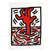 After Keith Haring American 1958  1990