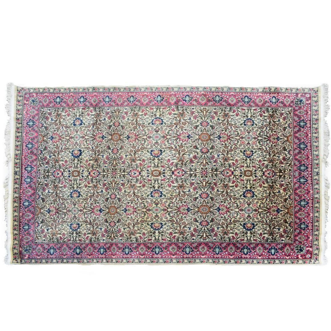 Semi Antique Persian Area Rug