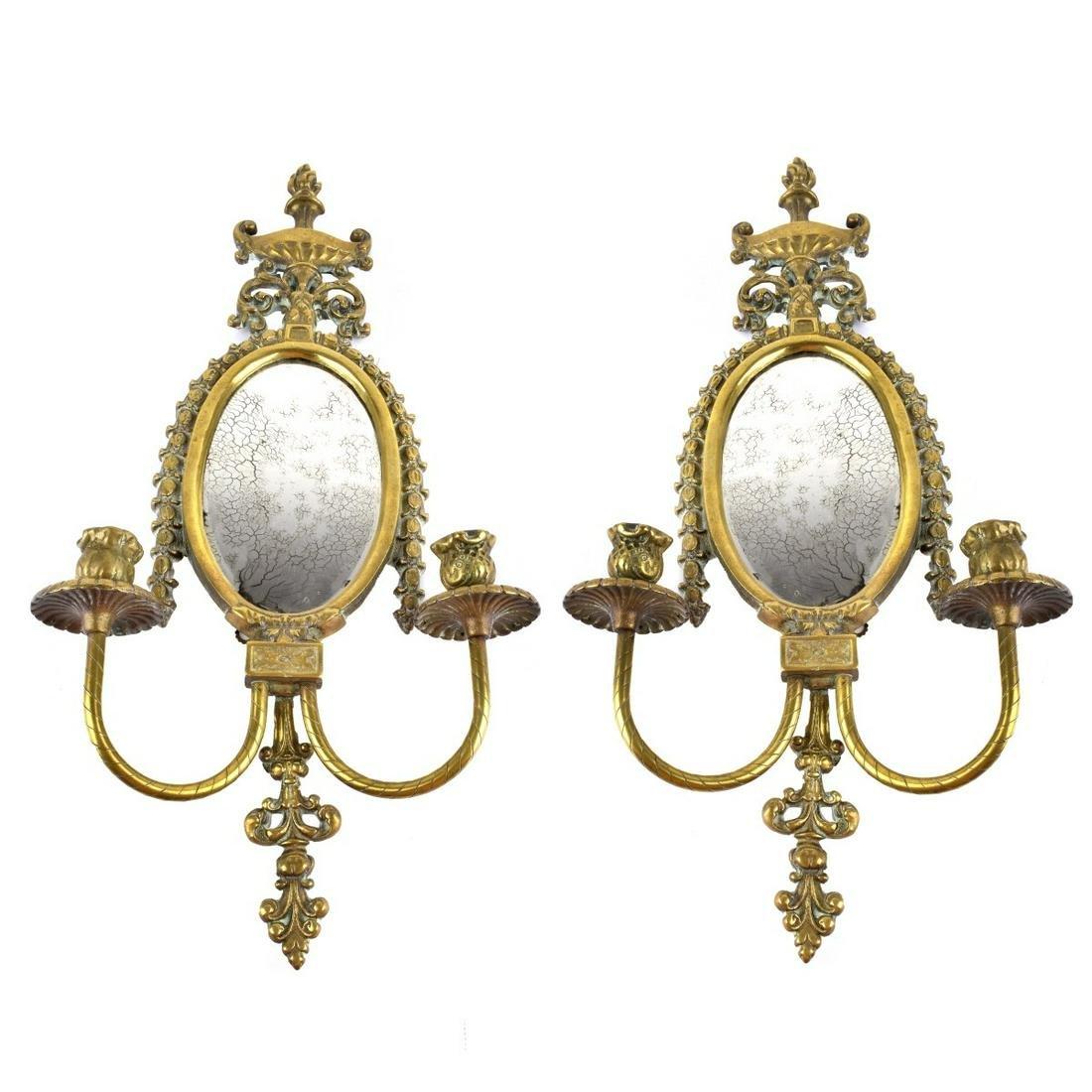 Pair of Louis XVI Style Sconces