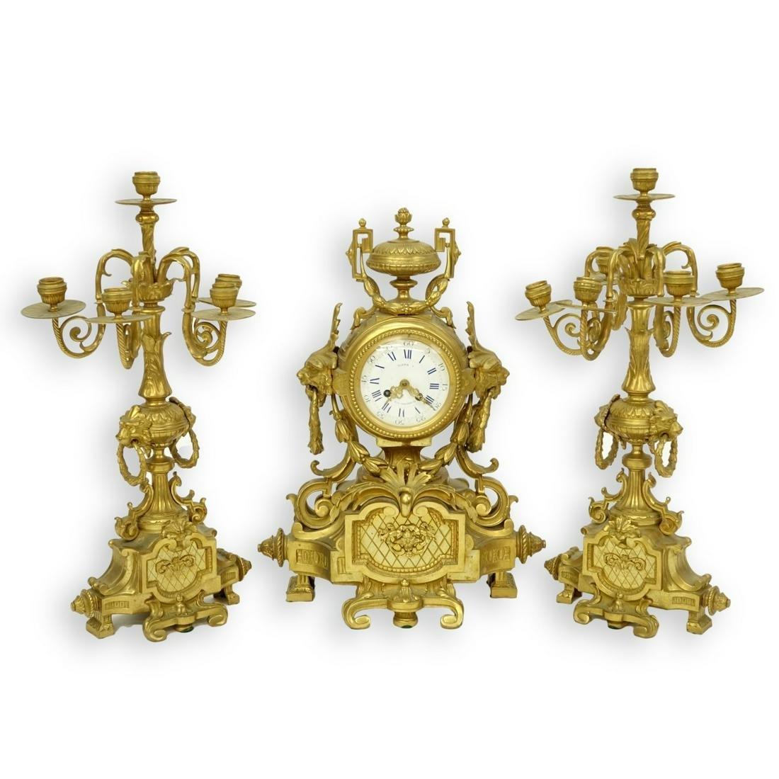 Louis XVI Style Garniture Set