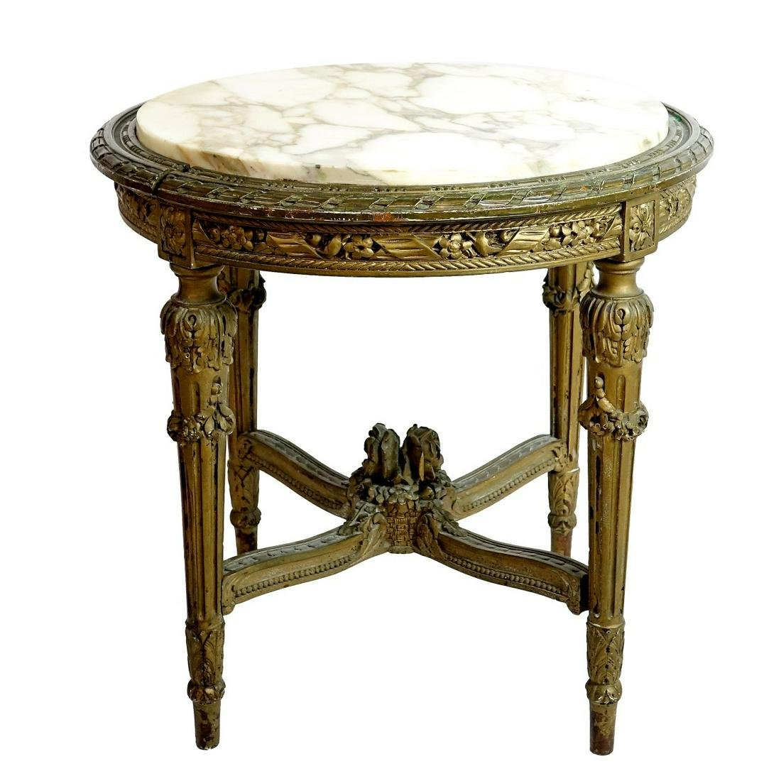 Antique French Louis XVI Style Side Table