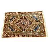 Semi Antique Middle Eastern Tribal Style Wool Rug