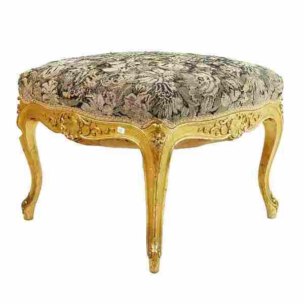 19/20th Louis XVI Style Bench