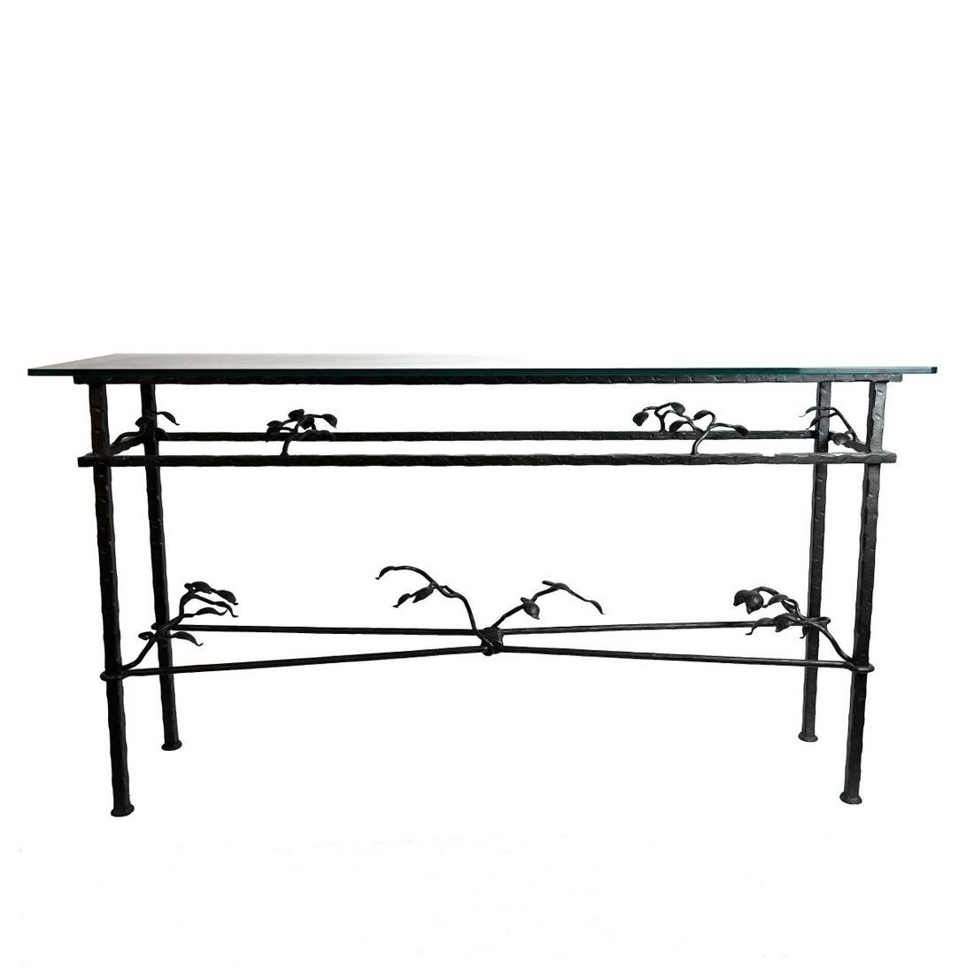 Mnnr of Diego Giacometti Console Table