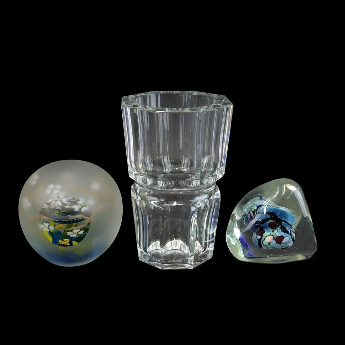 Three (3) Vintage Crystal Tableware