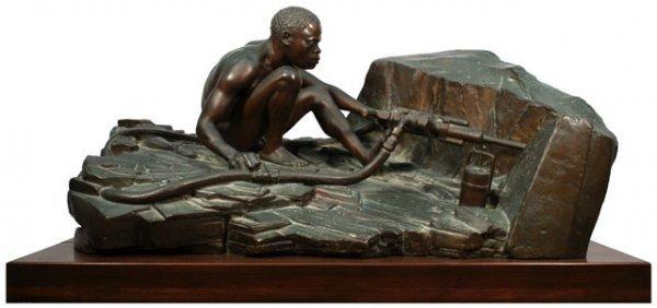 190: Anton van Wouw South African (1862-1945) Bronze Sc