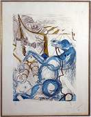 372 Salvador Dal Spanish 19041989 Color Etching an