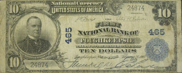 514: Series 1902 Ten Dollar ($10.00) The First National